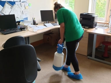 Doctors surgery Commercial carpet cleaning in kent