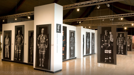 Coal Miner Photographs at Museum in the Park