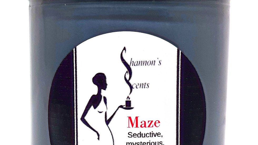 Maze Soy Wax Candle