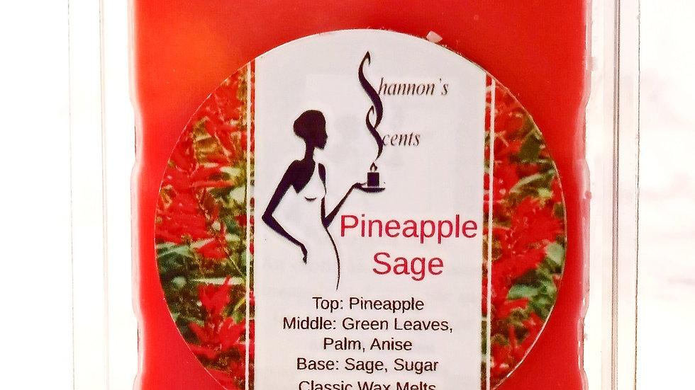 Pineapple Sage Classic Wax Melts