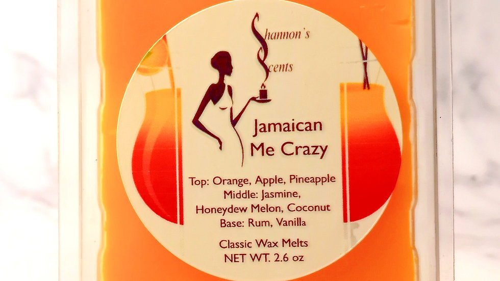 Jamaican Me Crazy Classic Wax Melts