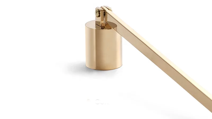Gold Candle Snuffer