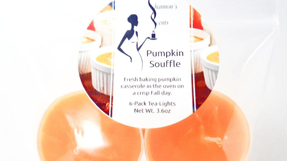 Pumpkin Souffle 6-Pack Tea Lights