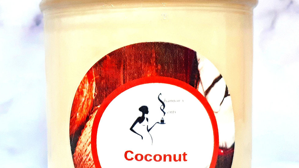 Coconut Soy Wax Candle