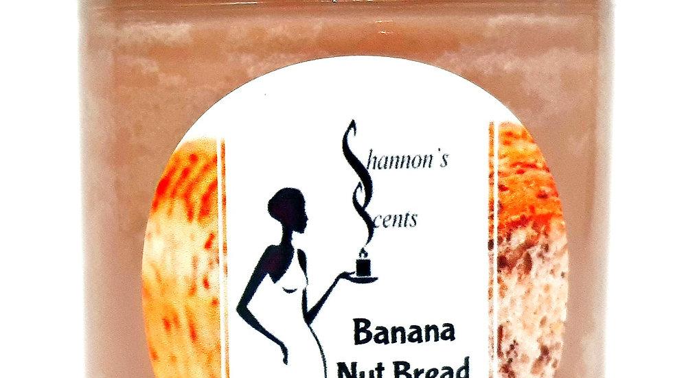 Banana Nut Bread Soy Wax Candle