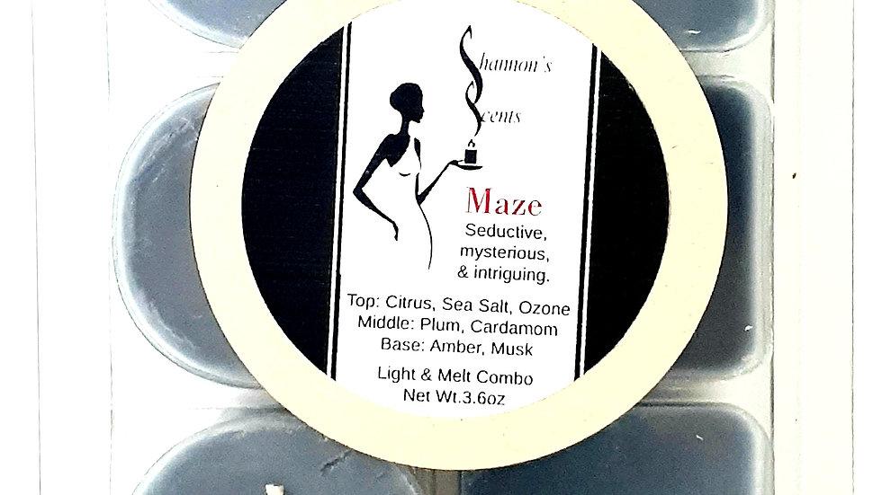 Maze Light & Melt Combo