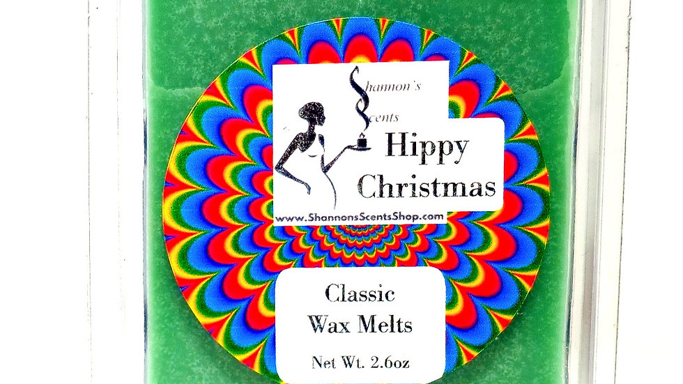 Hippy Christmas Classic Wax Melts