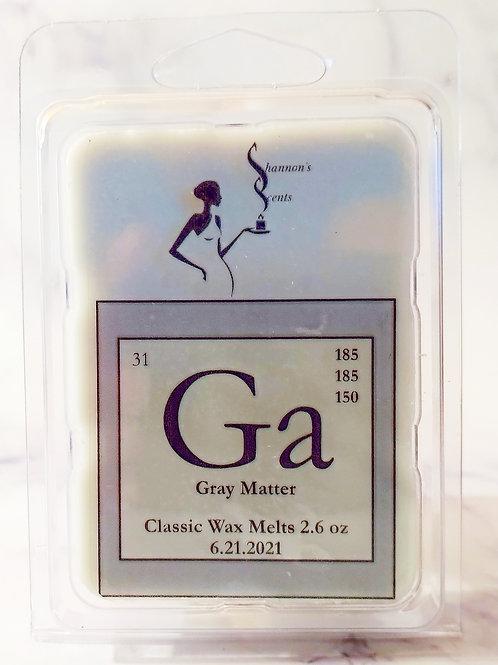 Ga - Gray Matter Classic Wax Melts