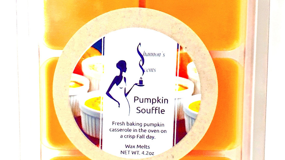 Pumpkin Souffle Wax Melts
