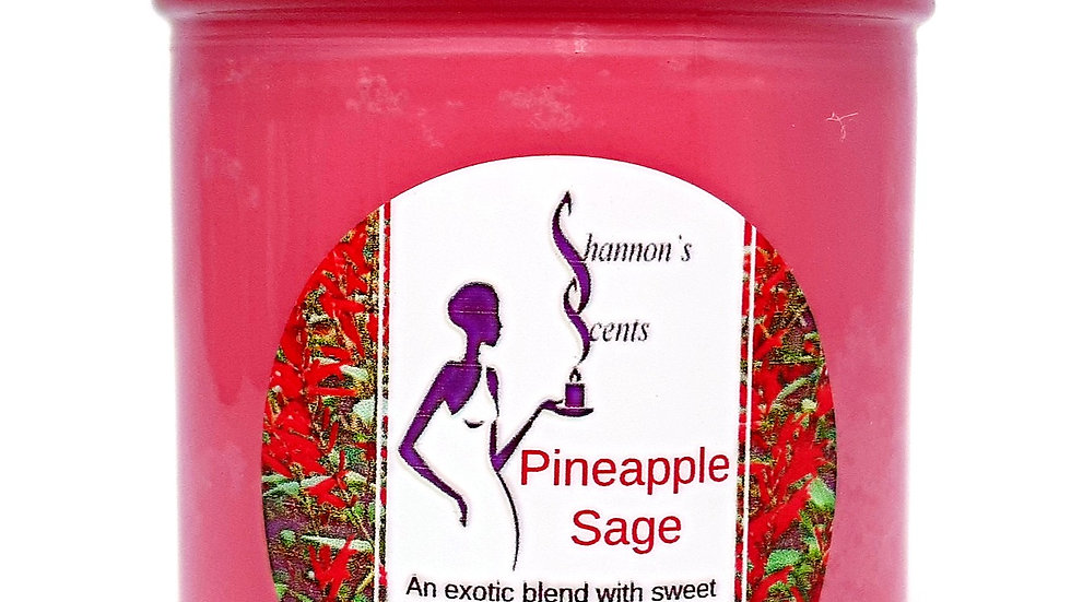 Pineapple Sage Soy Wax Candle