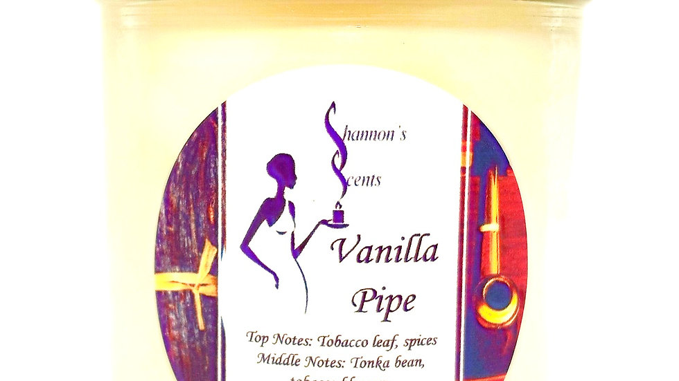 Vanilla Pipe Soy Wax Candle