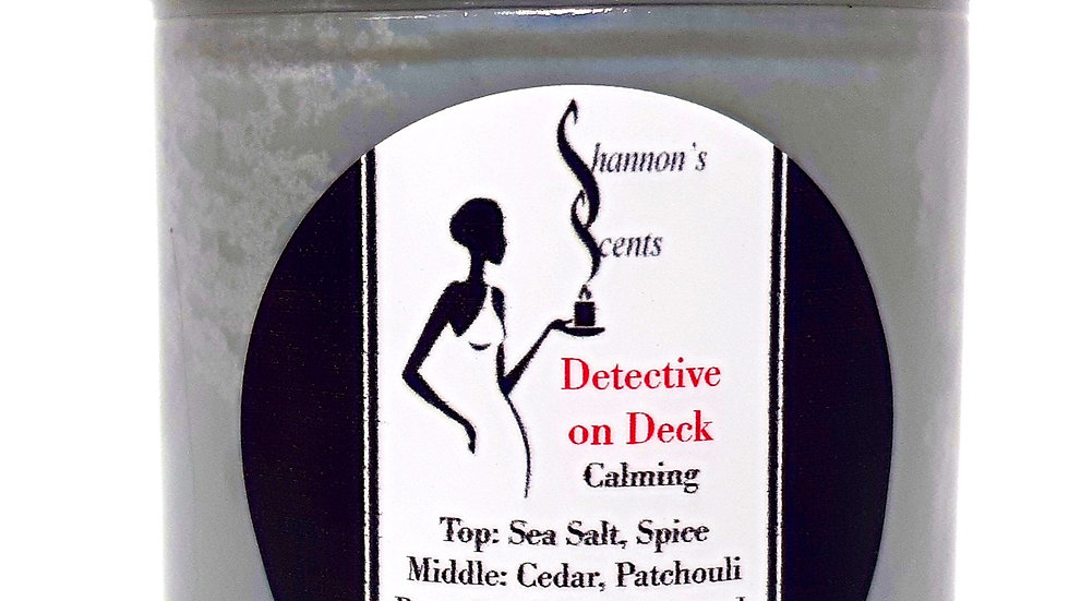 Detective on Deck Soy Wax Candle
