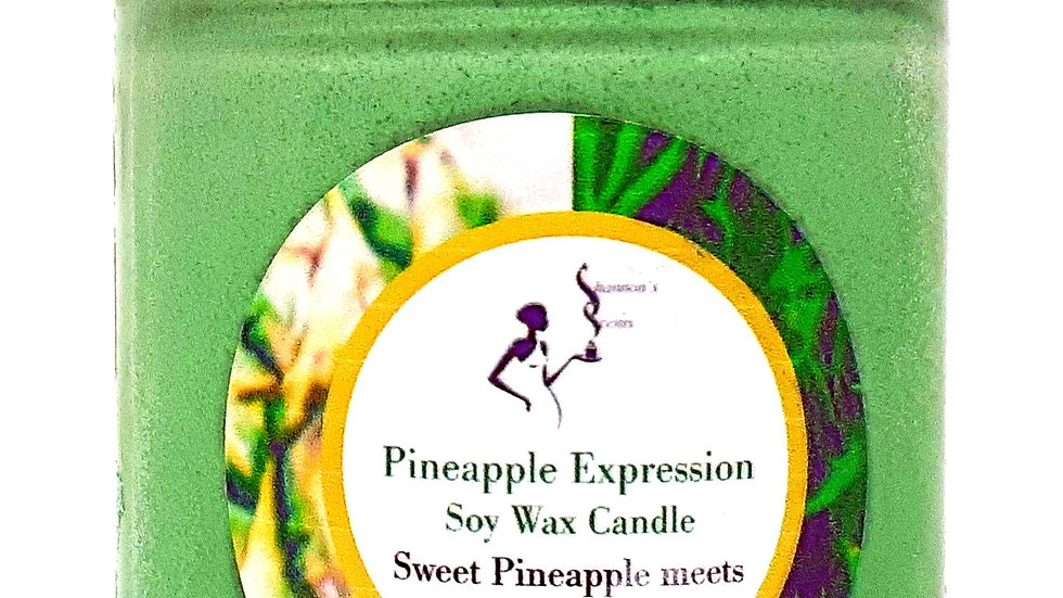 Pineapple Expression Soy Wax Candle