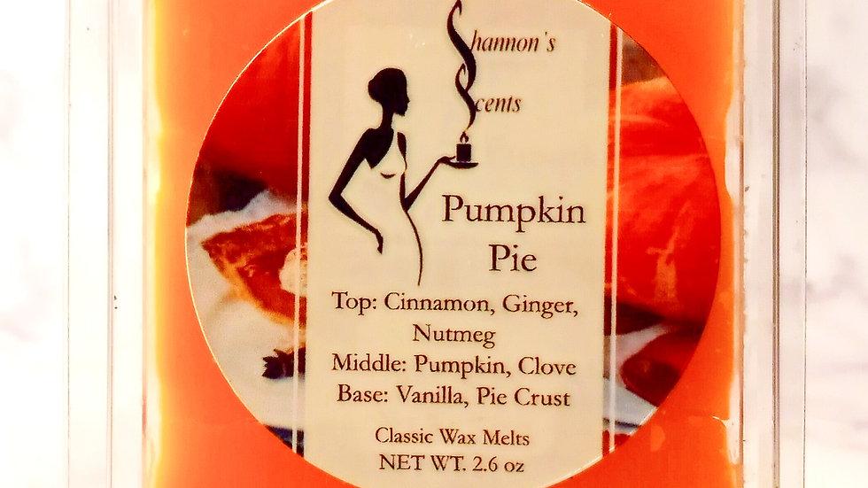 Pumpkin Pie Classic Wax Melts