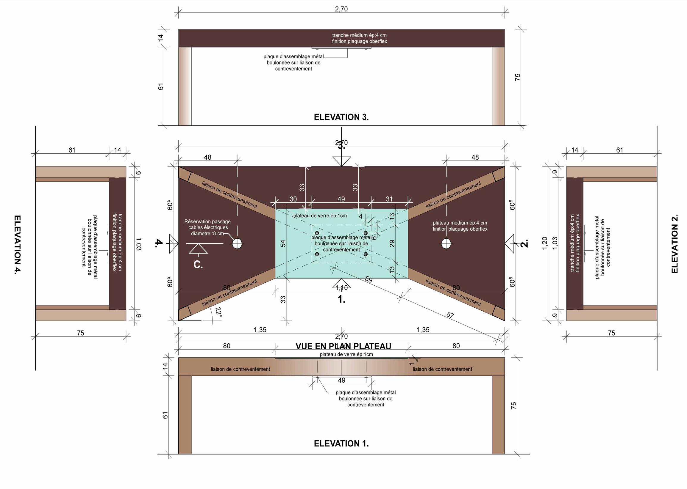 PLANCHE DETAIL 1 DE CONSTRUCTION