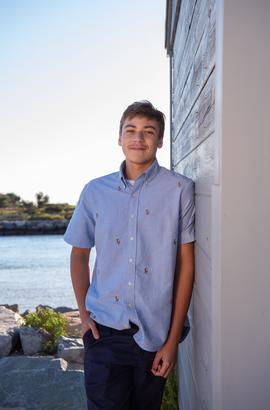 Isaiah-Senior Portrait-Cape Cod-2020