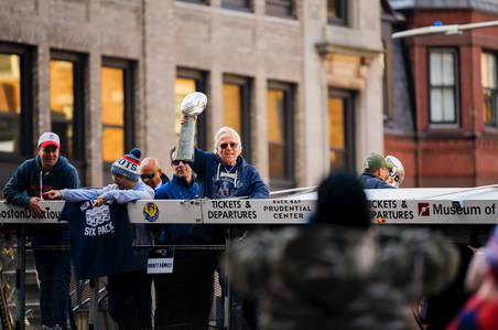 Patriots Parade-Robert Kraft-Championship