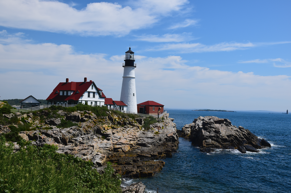 Portland ME-Lighthouse-Travel