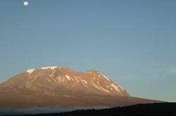 White snow of Kilimanjaro