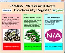 Highways Biodiversity Register