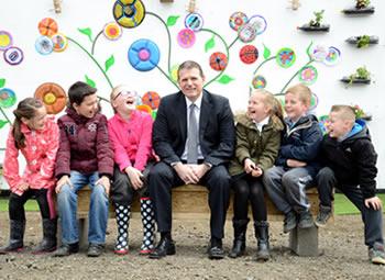 'Incredible Edible' Living Wall