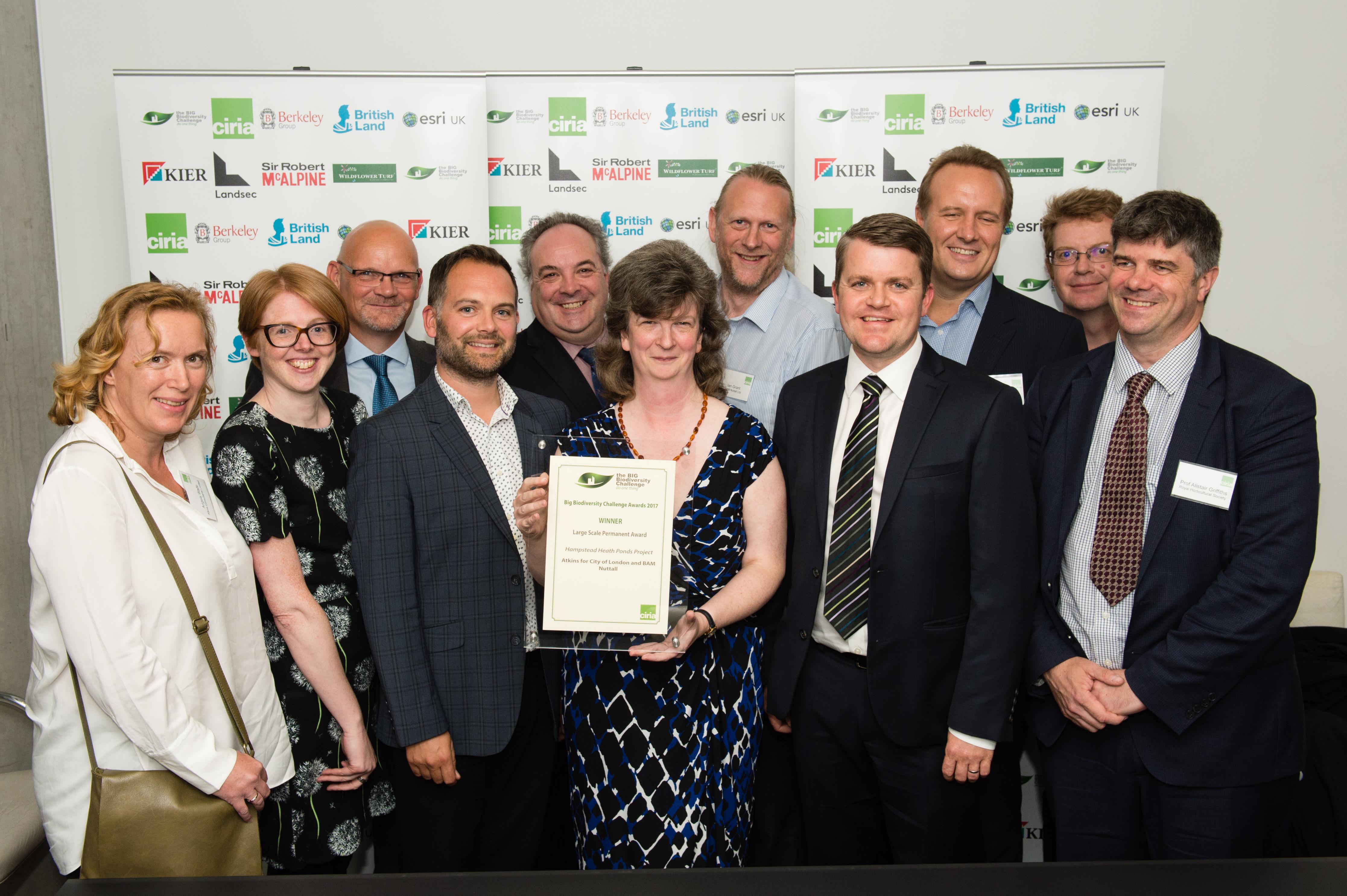 Large Scale Permanent Award winners
