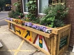 Area 3 - Depots in bloom