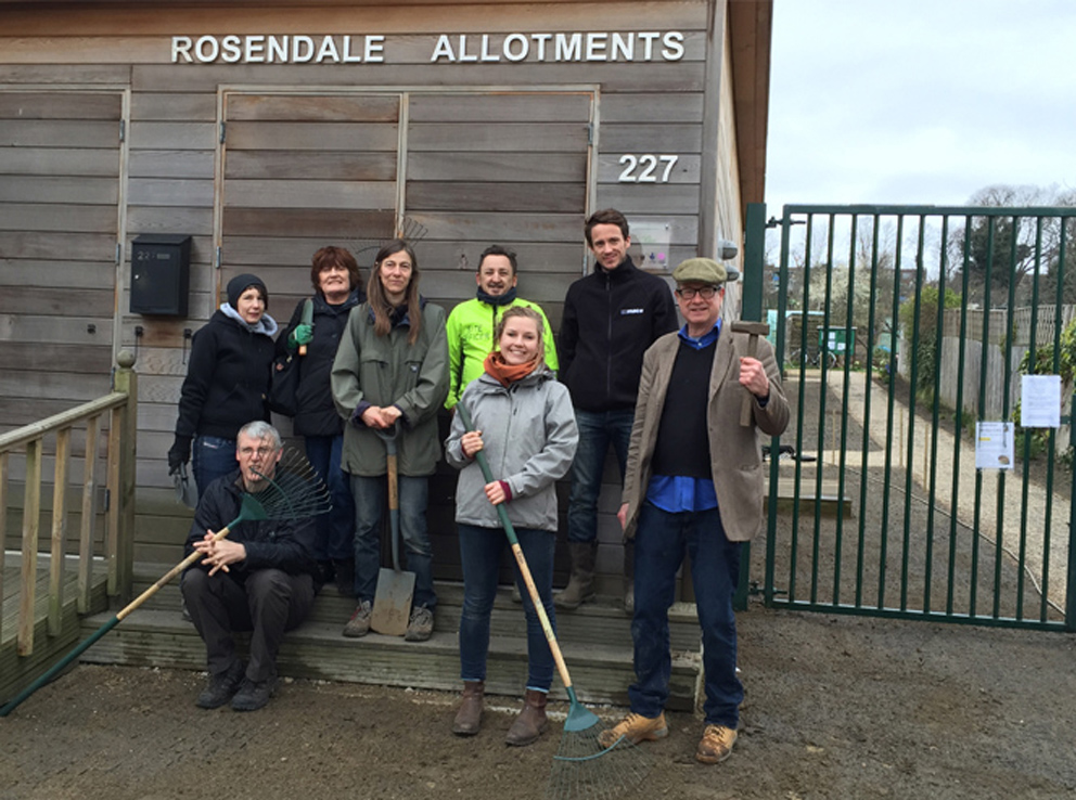 Rosendale Allotments Depave