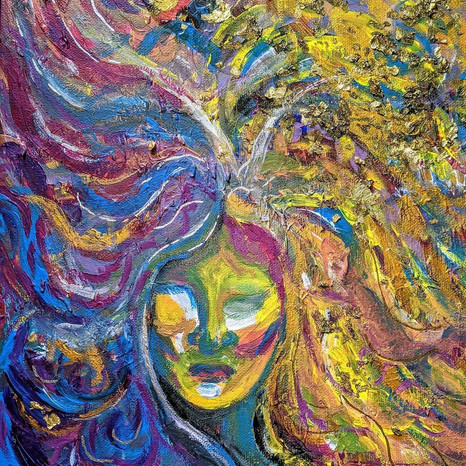 The Dark Mother | Jay Percy Art | Psychedelic Art | Visionary Art
