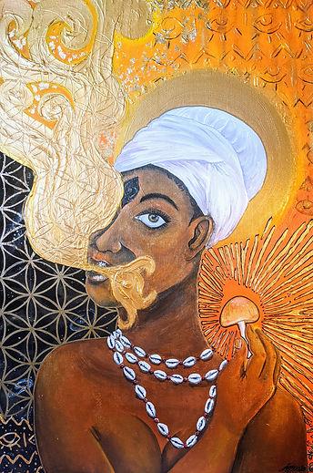 Obeah Woman, Ancestor, Healer,