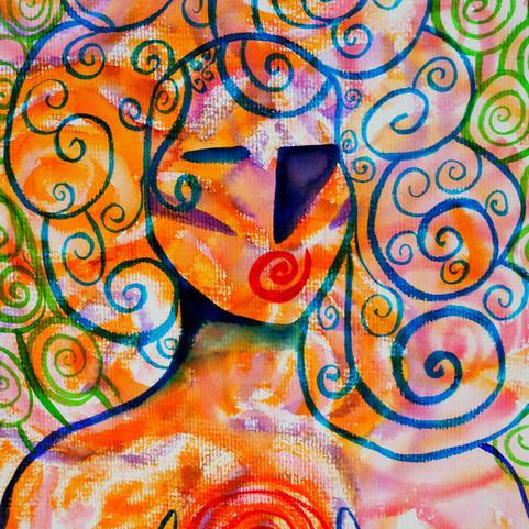 Ego Death Part I | Jay Percy Art | Psychedelic Art | Visionary Art