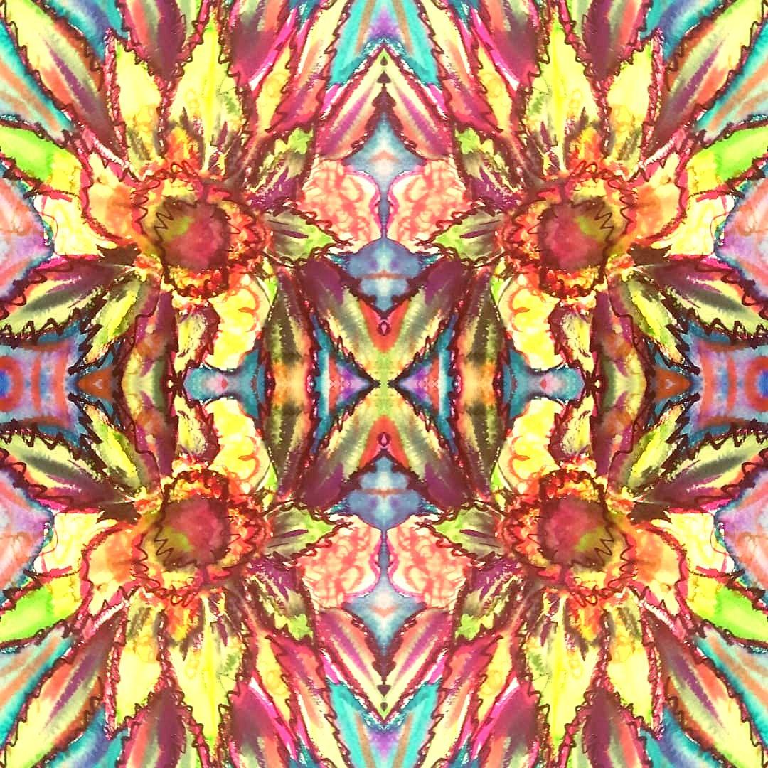 Sense II   Jay Percy Art   Psychedelic A
