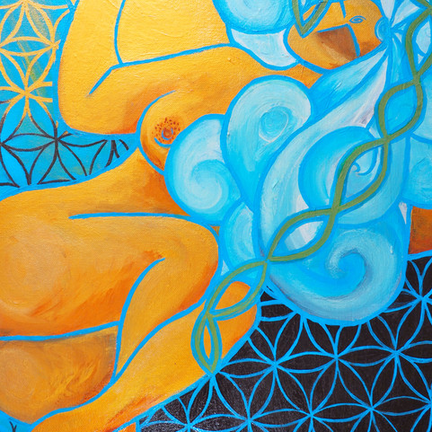 The One, The All   Jay Percy Art   Psychedelic Art   Visionary Art