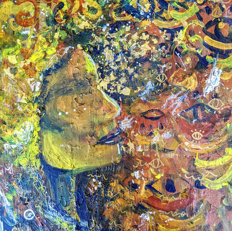 Akashic Crone | Jay Percy Art | Psychedelic Art | Visionary Art