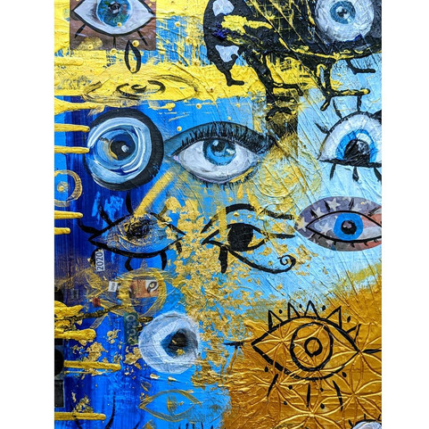 2020 Vision | Jay Percy Art | Psychedelic Art | Visionary Art