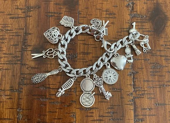 Salon Beauty Charm Bracelet