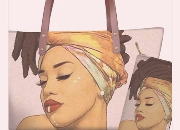 Chocolate Gurls Shoulder Bags w/Matching Wallet