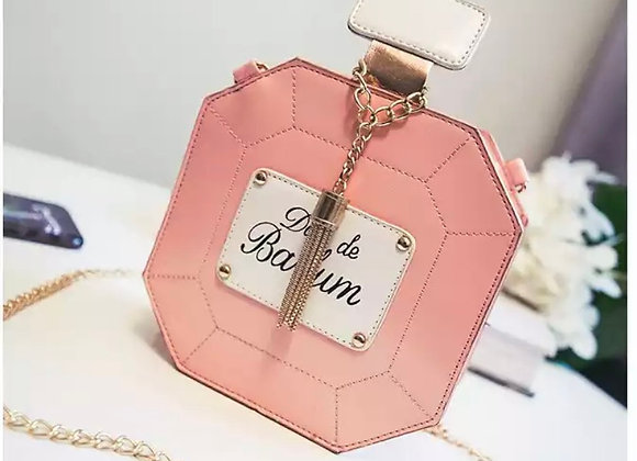 Novelty Pink Perfume Purse