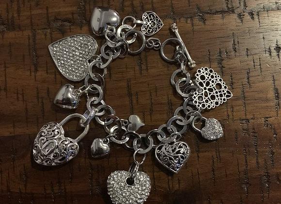 Heart of Hearts Charm Bracelet