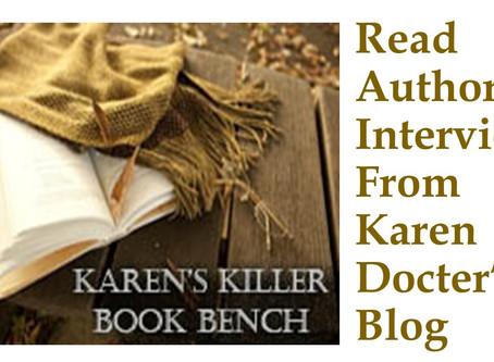 Sneak Peek: Deadly Focus on Karen Docter's Killer Book Bench