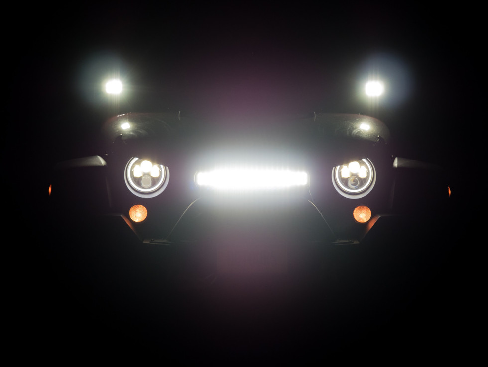 Jeep Wrangler Headlights