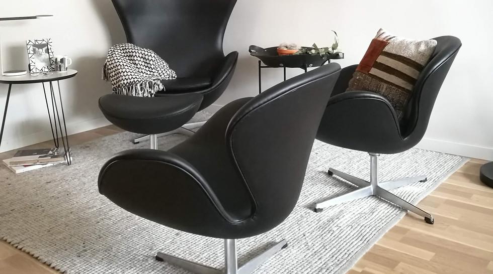 Swan-tuoli