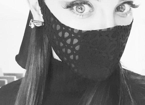 Máscara Renda Laço