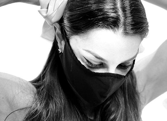 Máscara Laço Rosa