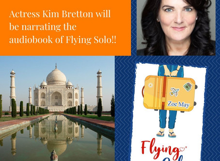 Flying Solo To Become An Audiobook!