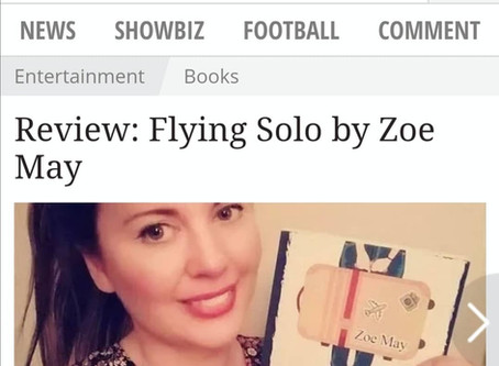 Daily Express Gives Flying Solo Five Star Review