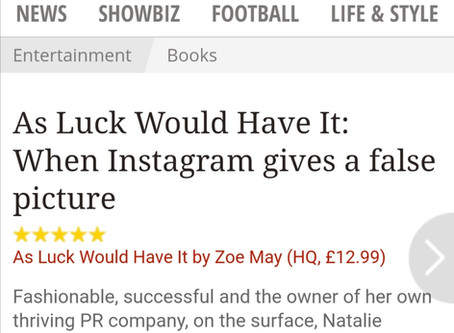 Daily Express Gives As Luck Would Have It A Five Star Review