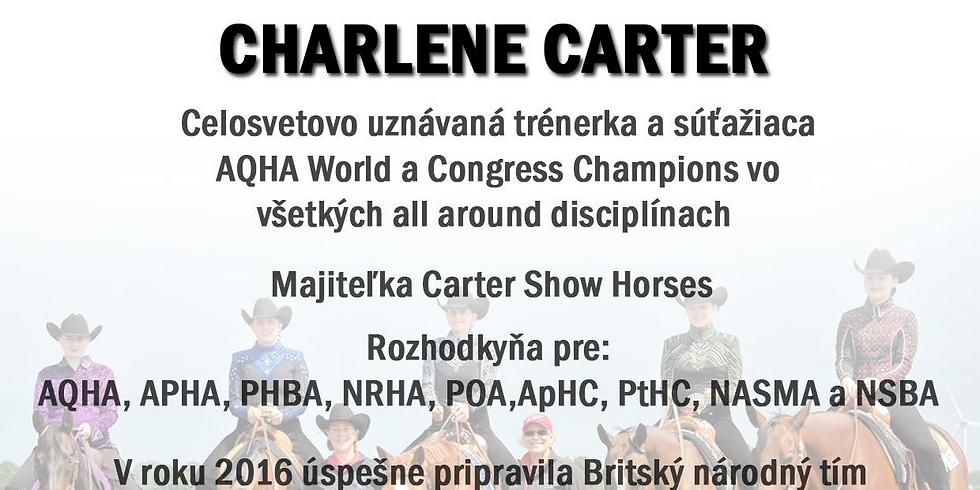 Drezúrne školenie s Charlene Carter