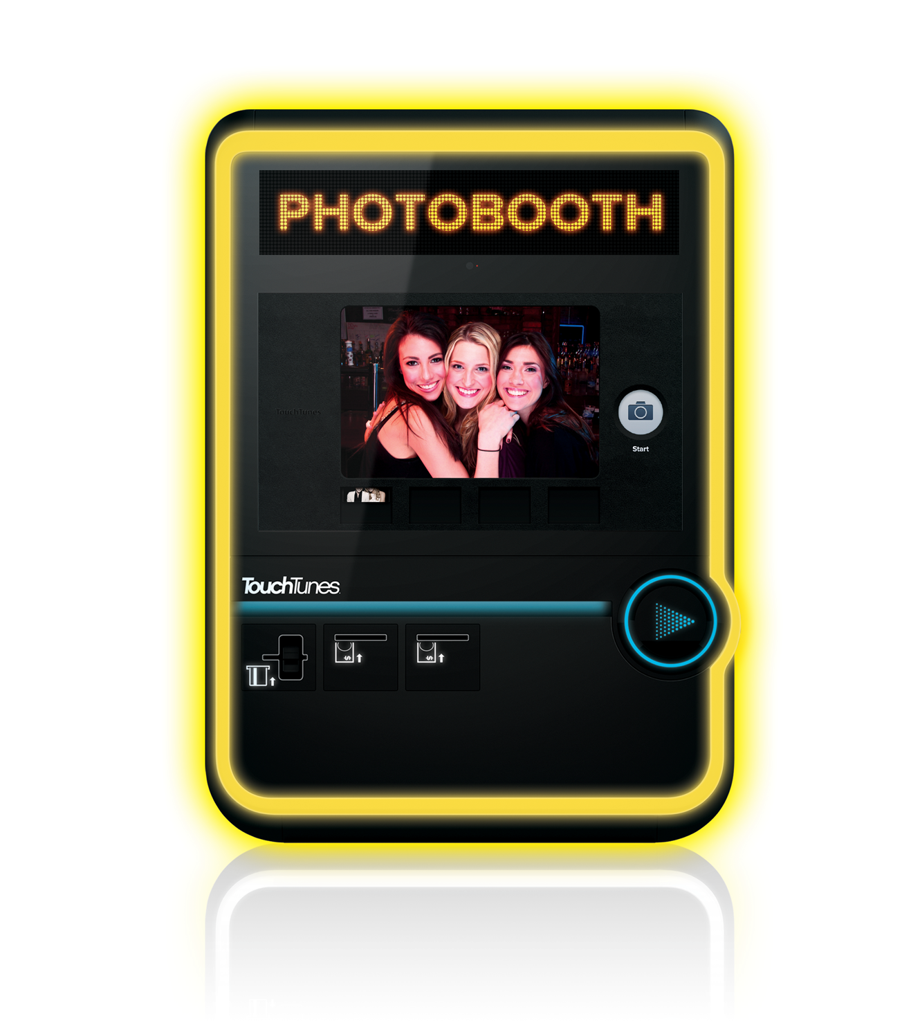 TouchTunes Virtuo Jukebox Photobooth