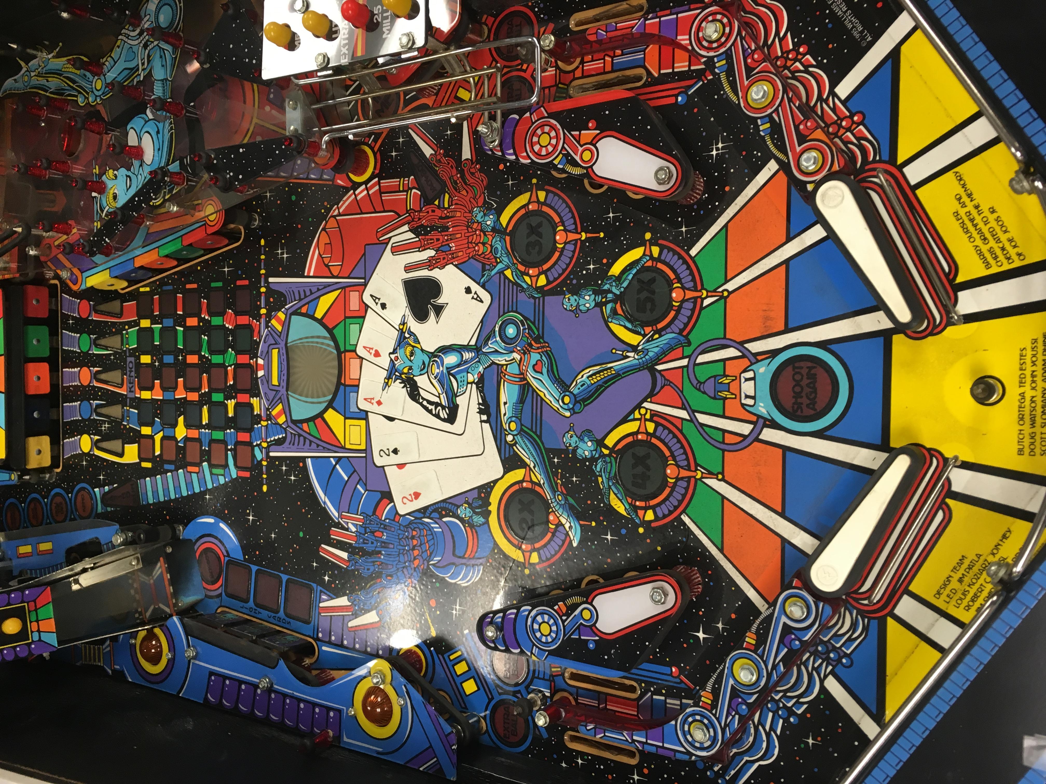 Williams Jack*Bot Pinball